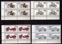 Germany - 1983 Youth Hostel - Historic Motorcycles.Transportation.4 X Stamps. MNH - [7] République Fédérale