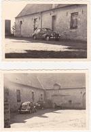 ANCIENNE PHOTO AMATEUR / Old Photograph / Lot De 2 / Voiture Renault ? Peugeot ? - Coches