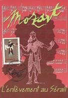 2006 - CARTE MAXIMUM 1er JOUR - OPERA De MOZART - ENLEVEMENT Au SERAIL - PARIS - 2000-09