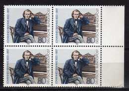 Germany - .1983 The 150th Anniversary Of The Birth Of Johannes Brahm, Composer.music.4 X Stamps. MNH - [7] République Fédérale