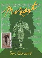 2006 - CARTE MAXIMUM 1er JOUR - OPERA De MOZART - DON GIOVANNI - PARIS - 2000-09