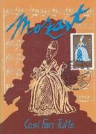 2006 - CARTE MAXIMUM 1er JOUR - OPERA De MOZART - COSI FAN TUTTE - PARIS - 2000-09