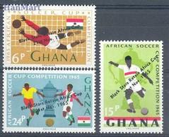 Ghana 1965 Mi 250-252 MNH ( ZS5 GHN250-252 ) - Ghana (1957-...)