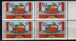 Germany - 1983 Brewing For More Than 450 Years.Beer.4 X Stamps. MNH - [7] République Fédérale