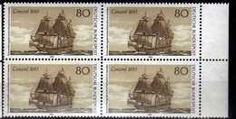 Germany - 1983 The 300th Anniversary Of The First Immigrant's In America.Transportation/Ships.4 X Stamps. MNH - [7] République Fédérale