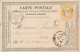 CP - France - (09) Ariège - Carte Precurseur - 1873 - Ax Les Thermes