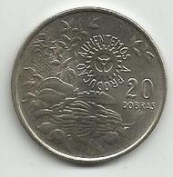 Sao Tome And Principe 20 Dobras 1977. FAO HIGH GRADE - Sao Tome And Principe