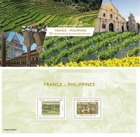 France - Feuillet Bloc Souvenir N° 135 ** Emission Commune France - Philippines - Foglietti Commemorativi