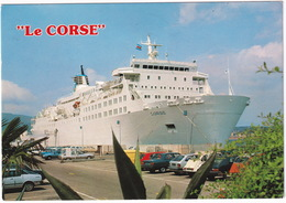 Ajaccio: DATSUN CHERRY COUPÉ N10, CITROËN 2CV, RENAULT 9, 20, HONDA CIVIC, VW GOLF, CITROËN GSA  - Car Ferry 'Le Corse' - Voitures De Tourisme