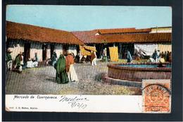 MEXICO Mercado De Cuernavacaca 1907 OLD POSTCARD - Mexique