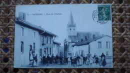 SAVIGNY SUR AISNE - RUE DE L EGLISE - Autres Communes