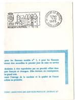 CHATEAU = 28 NOGENT Le ROTROU 1980 = FLAMME PREMIER JOUR = SECAP Illustrée ' CHATEAU St JEAN ' - Marcophilie (Lettres)
