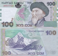 Kyrgyzstan - 100 Som 2002 UNC Lemberg-Zp - Kyrgyzstan