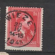 COB 690 Oblitération Centrale WIEZE - 1936-1957 Open Collar