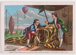 Nougatines De Nevers-E.RANDIER .Nevers  /Joseph Et Etienne Montgolfier Inventent Les Aérostats En 1783 - Confiserie & Biscuits