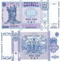 Moldova - 1000 Lei 1992 UNC Lemberg-Zp - Moldavie