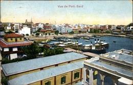 Cp Port Said Ägypten, Panorama Von Der Ortschaft - Ansichtskarten