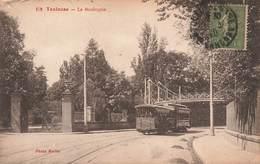 31 Toulouse Le Boulingrin Tram Tramway  Cpa Carte Animée Animation - Toulouse