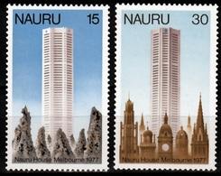 Naura Mi 147,148 Naura House Melbourne Postfris M.n.h. - Nauru