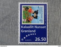 Timbre Neuf Groenland (danemark) 2005 : Cinquantenaire Du Timbre Europa - Europa-CEPT