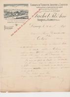 Fabrique De Vermouth , Absinthe &Liqueurs , Eaux De Vie &Vins Fins FUCHET Fils Ainé à DORNECY ( Nièvre) - France
