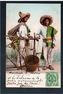 MEXICO Indigenas Con Moras Ca 1905 OLD POSTCARD - Mexique