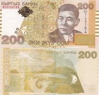 Kyrgyzstan - 200 Som 2004 UNC Lemberg-Zp - Kirghizistan