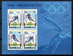 Korea 1998 Corea / Winter Olympics Nagano MNH Juegos Olímpicos Invierno / Cu12511  41-38 - Invierno 1998: Nagano
