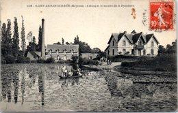 53 - SAINT AIGNAN Sur RÖE -- L'Etang  Et Le Moulin De La Dyardière - Saint Aignan Sur Roe