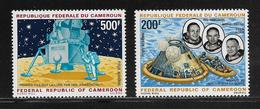 CAMEROUN  ( AFCA - 19 )  1969  N° YVERT ET TELLIER  POSTE AERIENNE N° 146/147  N** - Cameroun (1960-...)