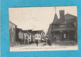 Saint-Brévin-lès-Pins. - Entrée Du Bourg Par La Route De Mindin. - Café-Tabac. - Saint-Brevin-les-Pins