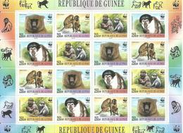 GUINEA H/B   MONOS    MNH  ** - República De Guinea (1958-...)