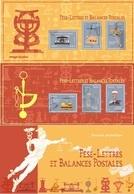 France - Feuillet Bloc Souvenir N° 140 Et 140 A ** Les Pèse-lettres Et Balances - Souvenir Blocks