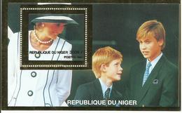 NIGER H/B   TEMA   PRINCESA DIANA    MNH  ** - Níger (1960-...)