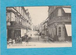 Saumur. - Rue Dacier. - Café De La Paix. - Saumur