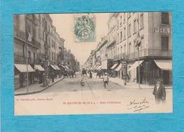Saumur. - Rue D'Orléans. - Magasins. - Attelage. - Saumur