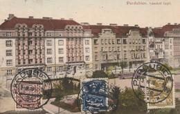 Tchéquie : PARDUBICE : Namesti Legii ( Au Dos Cachet De - Joseph RULE - ) - Tchéquie