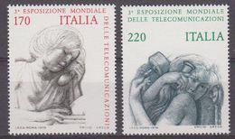 Italy 1979 Esp. Mondiale Delle Telecomunicazioni 2v ** Mnh (42487) - 1971-80: Nieuw/plakker