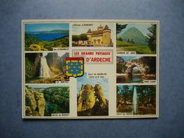 ARDECHE -  07  -  Les Grands Paysages D'Ardèche  -  Multivues  -  ARDECHE - Francia