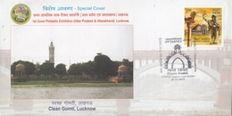 India 2015  Rivers  Clean Gomti  Lucknow Special Cover #  18239  D India Inde Indien - India