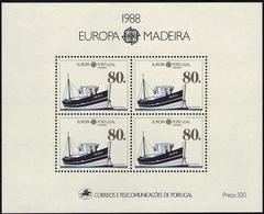 EUROPA - CEPT 1988 - Madeira - BF Neuf // Mnh - Europa-CEPT