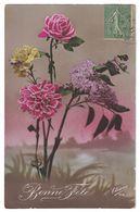 ELIANNE 158 BONNE FETE / CACHET 1921 - Illustrateurs & Photographes