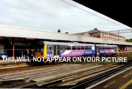 Stockport Railway Station Class142 Chester Train - Railway