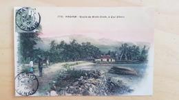 Annam : Route De Binh-Dinh à Gui-Nhon (Indochine) 1906 Circulée - Viêt-Nam
