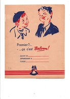 PROTEGE-CAHIER BISCUITS L'ALSACIENNE - BABOUM - Book Covers