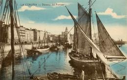 La Coruna - Darsena Del Parrote - Galicia Espana - Animation - La Coruña