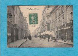 Laval. - La Rue Joinville. - Café-Tabac. - Laval