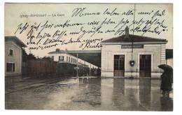54 MEURTHE ET MOSELLE - IGNEY AVRICOURT La Gare, Aquarellée - France
