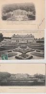 19 4 / 377 -  DAMPIERRE ( 78 ) 3 CPA   - LE. CHÂTEAU - Dampierre En Yvelines