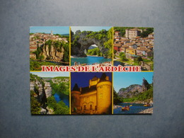 ARDECHE  -  07   -  Images De L'Ardèche  -  Multivues    -  ARDECHE - Francia